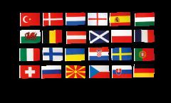 Flag Pack Football 2021 - 150 x 250 cm