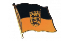 Germany Baden-Württemberg Flag Pin, Badge - 1 x 1 inch
