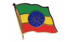 Ethiopia Flag Pin, Badge - 1 x 1 inch