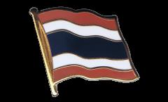 Thailand Flag Pin, Badge - 1 x 1 inch