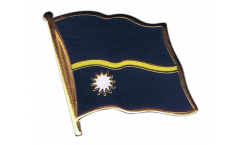 Nauru Flag Pin, Badge - 1 x 1 inch