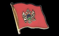 Montenegro Flag Pin, Badge - 1 x 1 inch