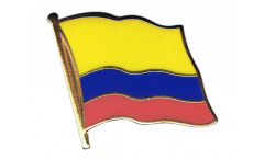 Colombia Flag Pin, Badge - 1 x 1 inch