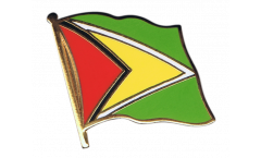 Guyana Flag Pin, Badge - 1 x 1 inch