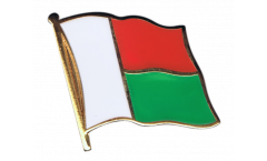 Madagascar Flag Pin, Badge - 1 x 1 inch