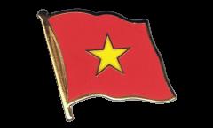 Vietnam Flag Pin, Badge - 1 x 1 inch
