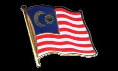 Malaysia Flag Pin, Badge - 1 x 1 inch