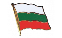 Bulgaria Flag Pin, Badge - 1 x 1 inch
