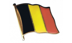 Belgium Flag Pin, Badge - 1 x 1 inch