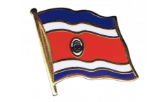 Costa Rica Flag Pin, Badge - 1 x 1 inch