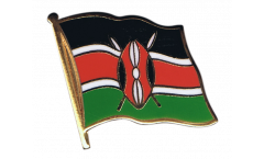Kenya Flag Pin, Badge - 1 x 1 inch