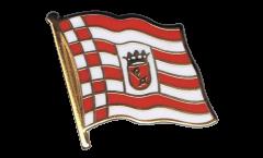 Germany Bremen Flag Pin, Badge - 1 x 1 inch