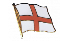 England St. George Flag Pin, Badge - 1 x 1 inch