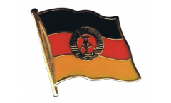 Germany GDR Flag Pin, Badge - 1 x 1 inch