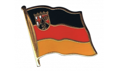 Germany Rhineland-Palatinate Flag Pin, Badge - 1 x 1 inch