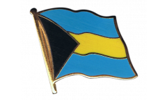 Bahamas Flag Pin, Badge - 1 x 1 inch