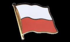 Poland Flag Pin, Badge - 1 x 1 inch