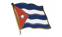 Cuba Flag Pin, Badge - 1 x 1 inch