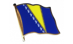 Bosnia-Herzegovina Flag Pin, Badge - 1 x 1 inch