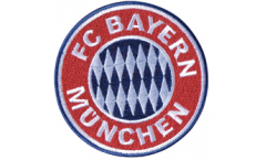 FC Bayern München Emblem Patch, Badge - 3.15 x 3.15 inch