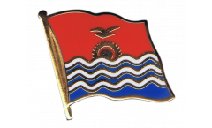 Kiribati Flag Pin, Badge - 1 x 1 inch