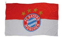 FC Bayern München Logo Flag - 5 x 8 ft. / 150 x 250 cm