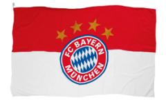 FC Bayern München Logo Flag - 2 x 3 ft. / 60 x 90 cm