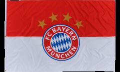 FC Bayern München Logo Flag - 4 x 5 ft. / 120 x 180 cm