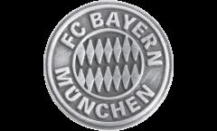 FC Bayern München Emblem Silver Pin, Badge - 0.6 x 0.6 inch