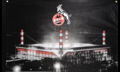 1. FC Köln Stadion Flag - 3 x 4.5 ft. / 90 x 140 cm