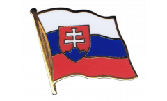 Slovakia Flag Pin, Badge - 1 x 1 inch