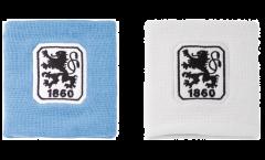 TSV 1860 München Wristband / sweatband, 2 pcs - 3.15 x 3.5 inch