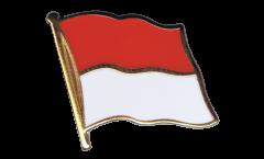 Monaco Flag Pin, Badge - 1 x 1 inch