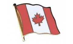 Canada Flag Pin, Badge - 1 x 1 inch
