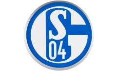 FC Schalke 04 Signet Pin, Badge - 0.6 x 0.6 inch