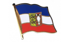 Germany Schleswig-Holstein Flag Pin, Badge - 1 x 1 inch