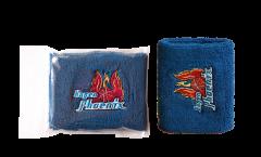 Phoenix Hagen blau Wristband / sweatband, 2 pcs - 3.15 x 4 inch