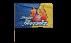 Phoenix Hagen Hand Waving Flag - 16 x 24 inch