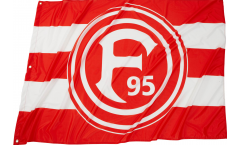 Fortuna Düsseldorf Basic Flag - 3.3 x 5 ft. / 100 x 150 cm
