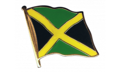 Jamaica Flag Pin, Badge - 1 x 1 inch
