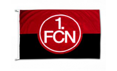 1. FC Nürnberg Logo red-black Flag - 3.3 x 5 ft. / 100 x 150 cm