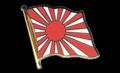 Japan war  Flag Pin, Badge - 1 x 1 inch