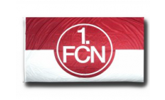 1. FC Nürnberg Logo red-white Flag - 5 x 8 ft. / 150 x 250 cm