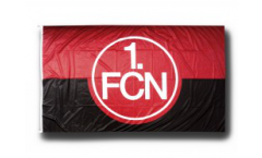 1. FC Nürnberg Logo red-black Flag - 5 x 8 ft. / 150 x 250 cm