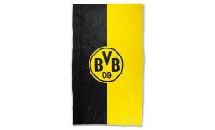 Borussia Dortmund Logo Stripes Flag - 3.3 x 6.6 ft. / 100 x 200 cm