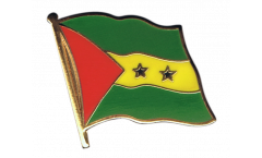 Sao Tome and Principe Flag Pin, Badge - 1 x 1 inch