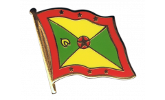 Grenada Flag Pin, Badge - 1 x 1 inch
