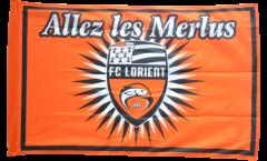 FC Lorient Flag - 3 x 4.5 ft. / 90 x 140 cm
