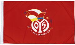 1. FSV Mainz 05 Logo Flag - 2.5 x 4 ft. / 80 x 120 cm
