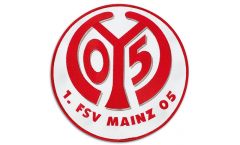 1. FSV Mainz 05 Logo Patch, Badge - 8 inch